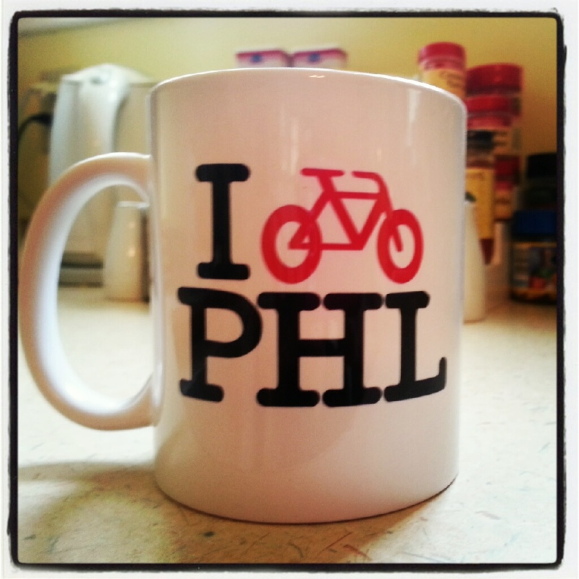 i bike philly!