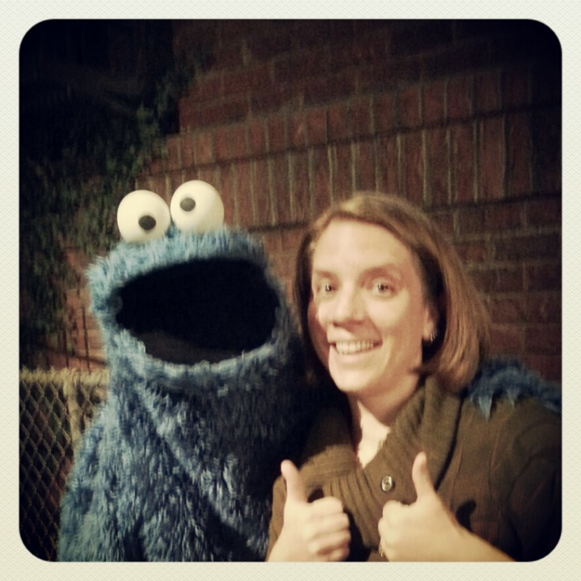 THE Cookie Monster and I