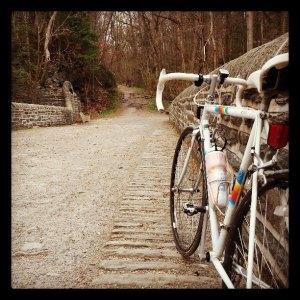 it's pretty ... much a very old cobblestone road