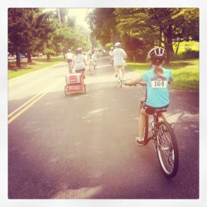 families pedal to help fight pediatric cancer