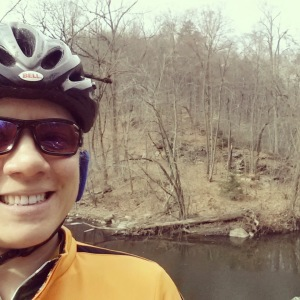 March - mountain biking!