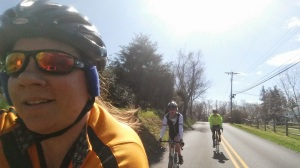 Andy and Ken joined me on the 88mi epic. Perfect day for a ride!