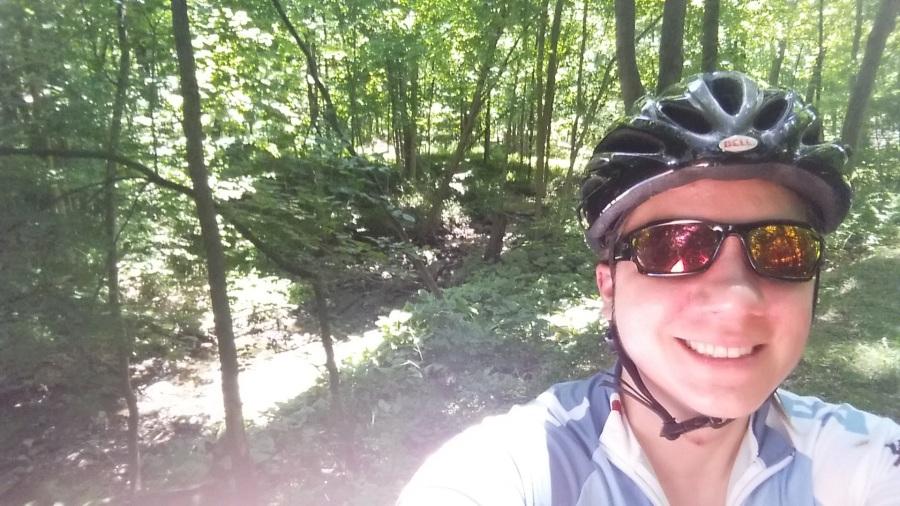 9 days post-op and got in a gentle 16 mile bike ride. it felt amazing!